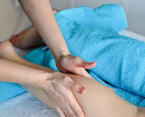 Edema-tratamiento fisioterapia en Clínica Casiano